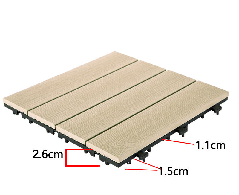 JIABANG frost resistant composite deck tiles durable-3