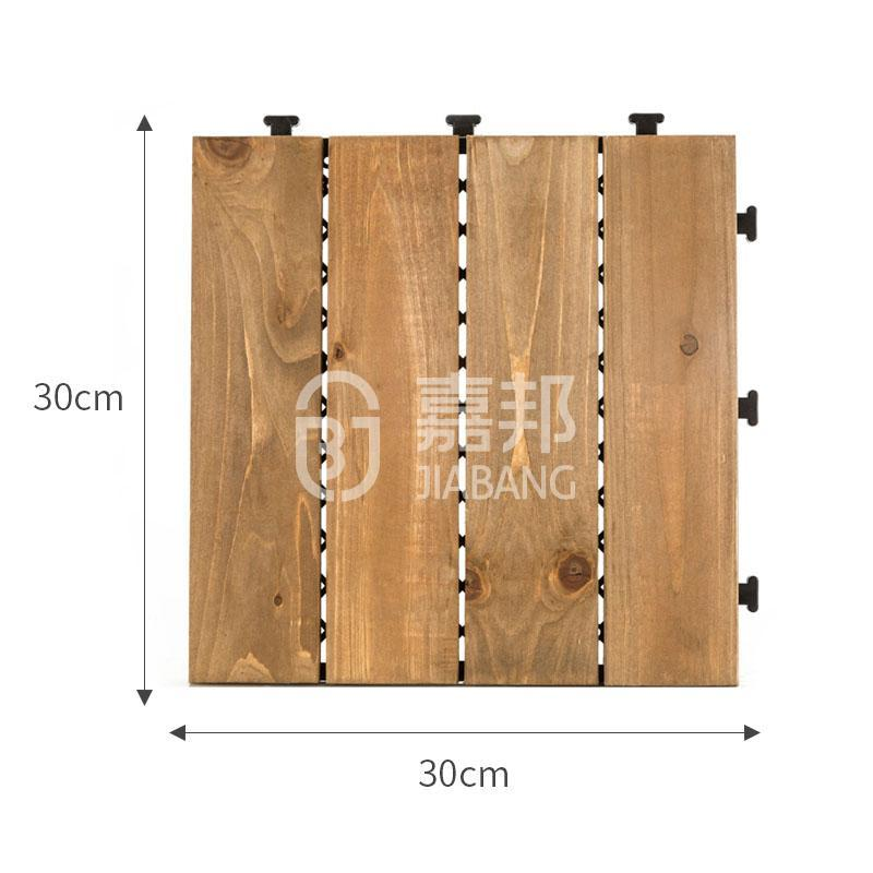 JIABANG interlocking hardwood deck tiles flooring for balcony-1