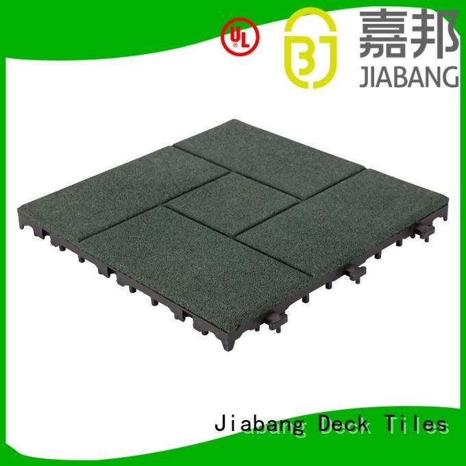 JIABANG Brand floor soft interlocking rubber mats manufacture