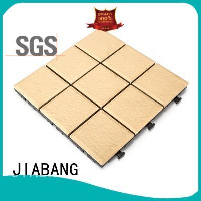 JIABANG exhibition ceramic patio tiles custom size at discount