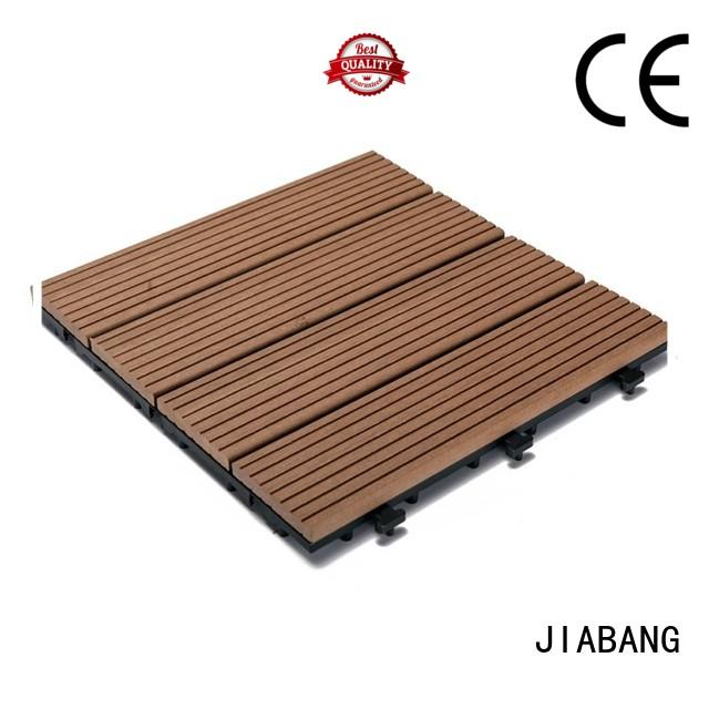 JIABANG light-weight outdoor composite deck tiles free delivery top brand