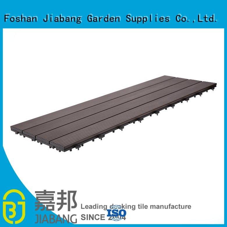 outdoor garden decking tiles metal at discount JIABANG