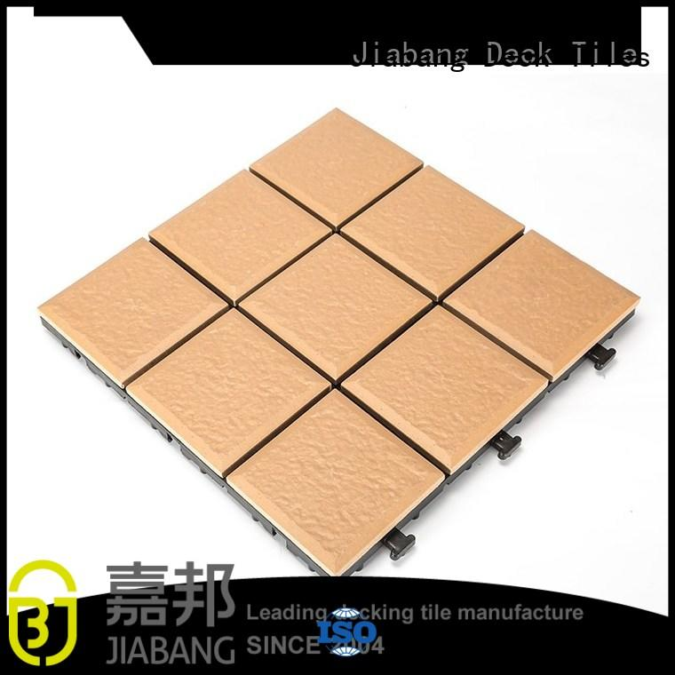 jj02 Custom 30x30cm porcelain patio tiles gazebo JIABANG