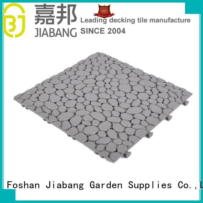 JIABANG bathroom floor outdoor plastic tiles high-quality for wholesale