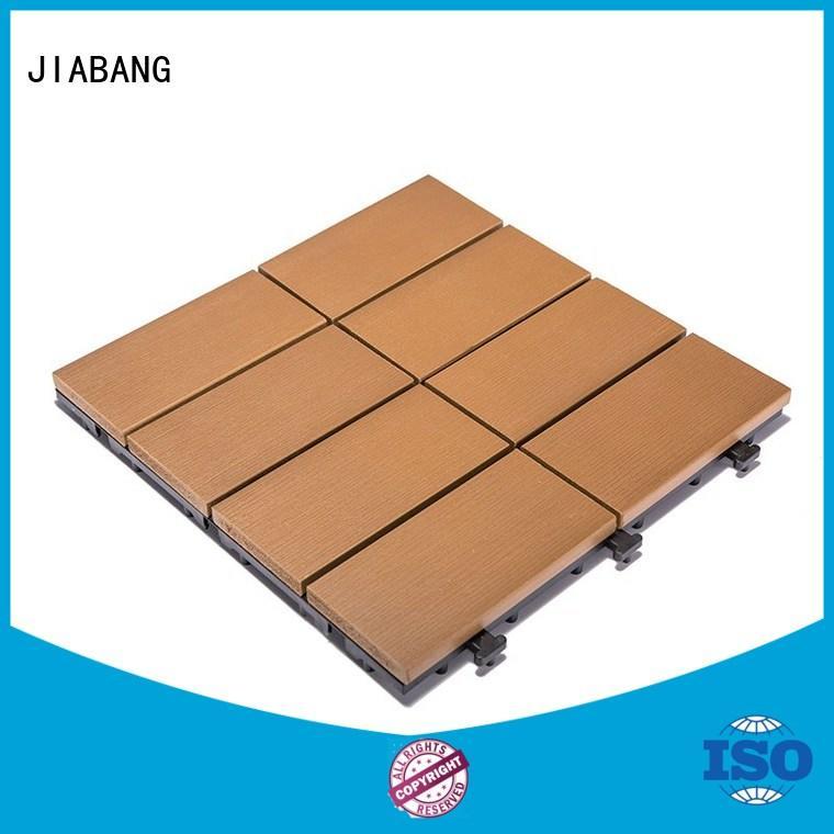 JIABANG outdoor plastic tiles popular garden path