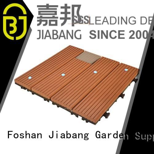 JIABANG outdoor composite deck tiles protective ground