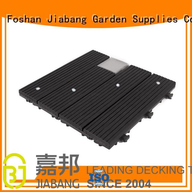 eco-friendly square decking tiles wpc home JIABANG