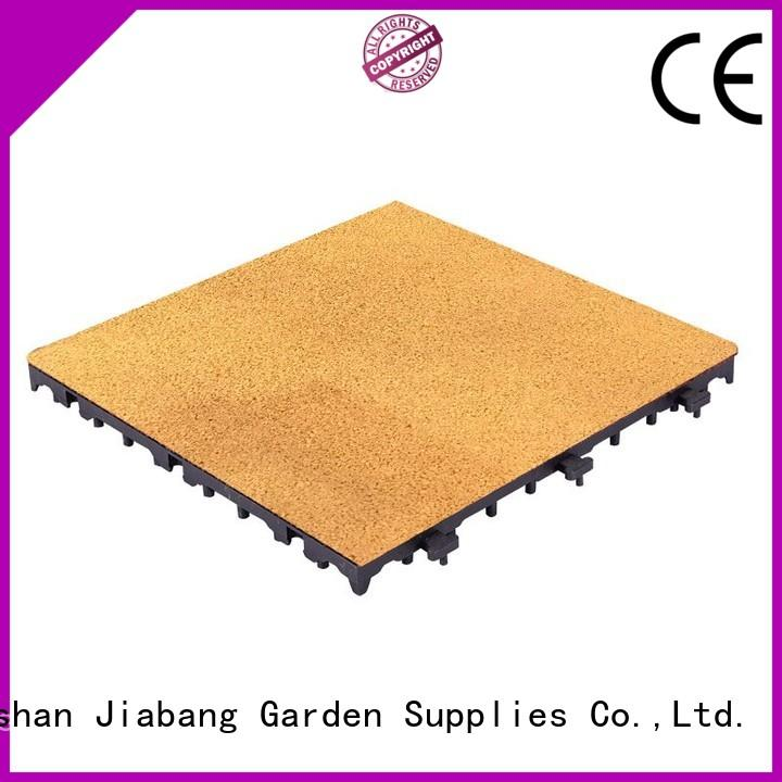 JIABANG interlocking rubber playground tiles free delivery at discount