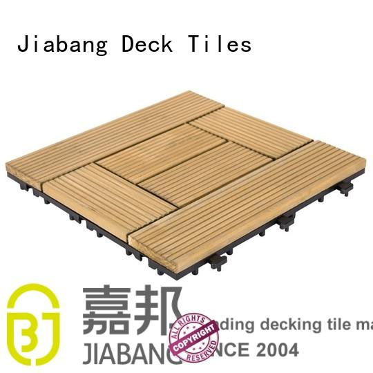 JIABANG natural wood deck panels flooring wood for garden