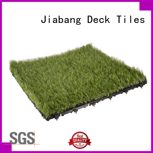 JIABANG professional grass tiles balcony construction