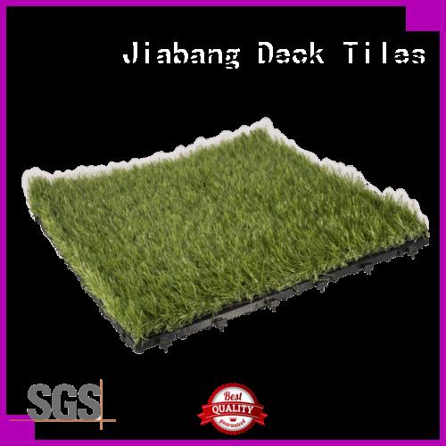 JIABANG professional grass tiles balcony construction