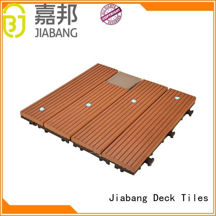 home garden light ecofriendly JIABANG Brand balcony deck tiles supplier