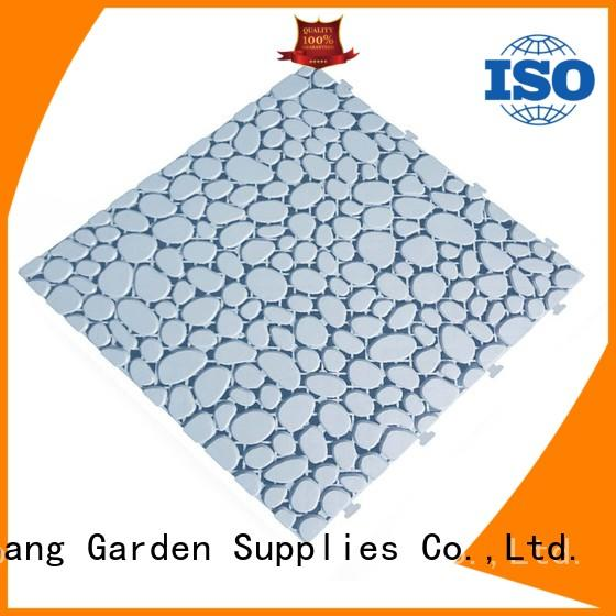JIABANG interlocking plastic patio tiles high-quality