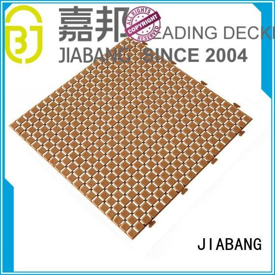 tiles flooring plastic floor tiles outdoor JIABANG Brand