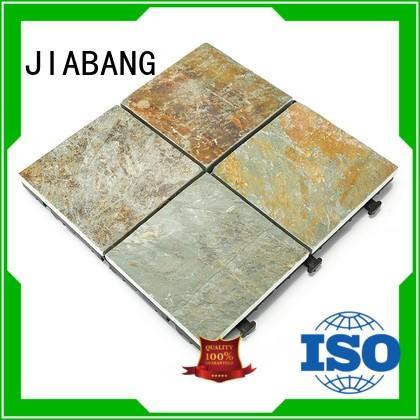 JIABANG interlocking outside slate floor tiles swimming pool