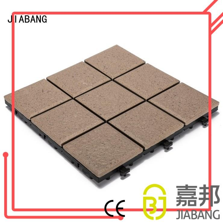 exhibition floor porcelain JIABANG Brand ceramic garden tiles manufacture