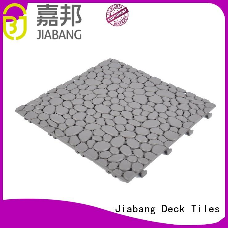 JIABANG hot-sale plastic snap together patio tiles high-quality