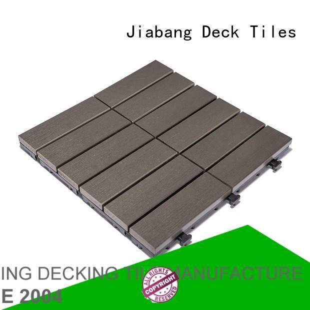 sun home pvc deck tiles JIABANG manufacture