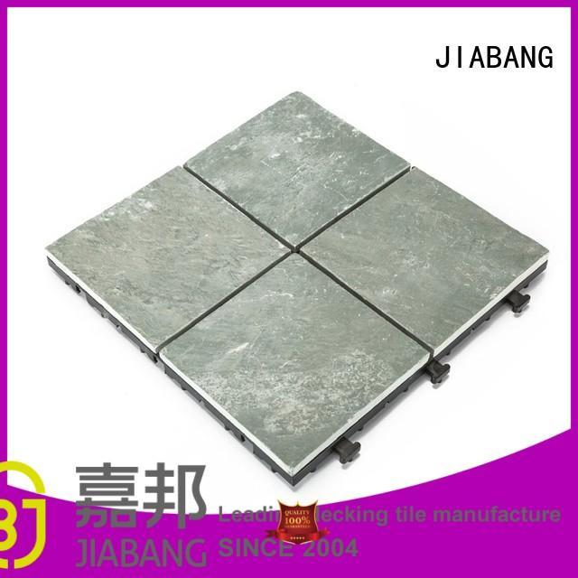 outdoor diy interlocking stone deck tiles JIABANG Brand