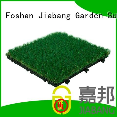 green grass carpet tiles wholesale garden decoration JIABANG