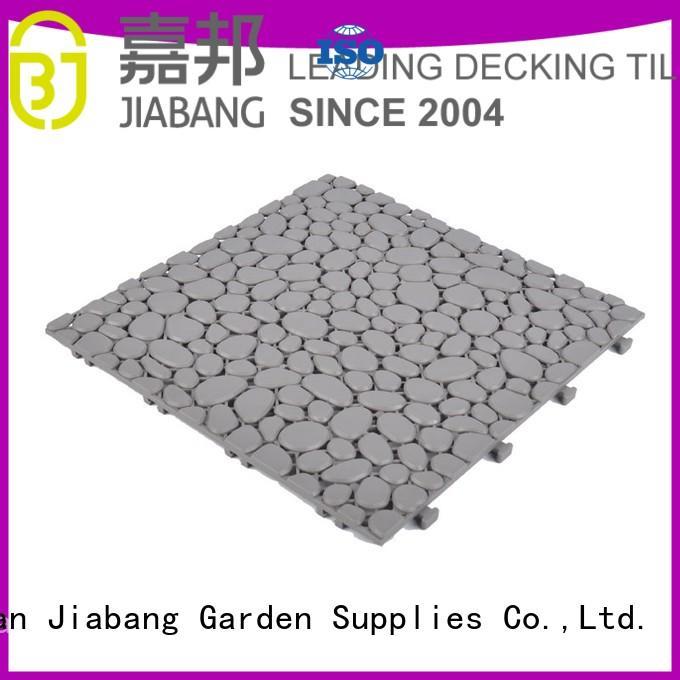 JIABANG flooring plastic floor tiles outdoor high-quality