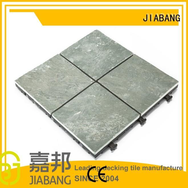 Wholesale tile slate outdoor stone deck tiles JIABANG Brand