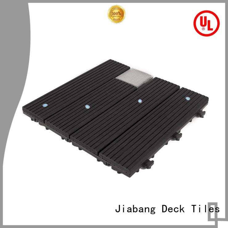 hot-sale modular decking panels led ground