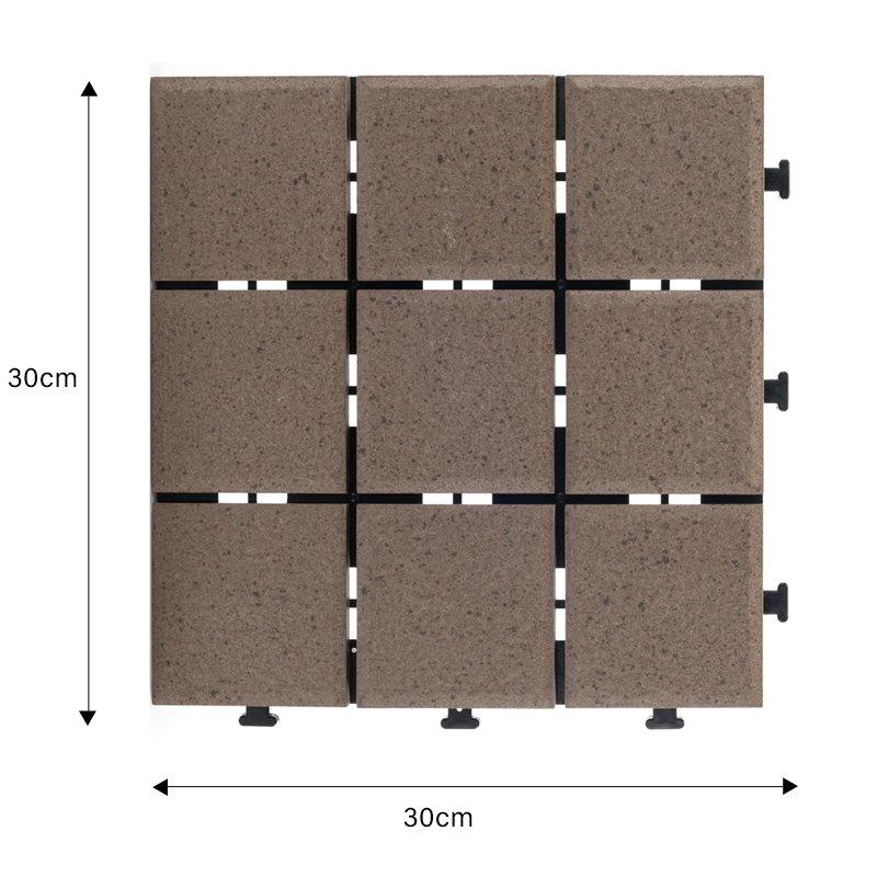 1.0cm ceramic outdoor flooring deck tiles JB5015-1