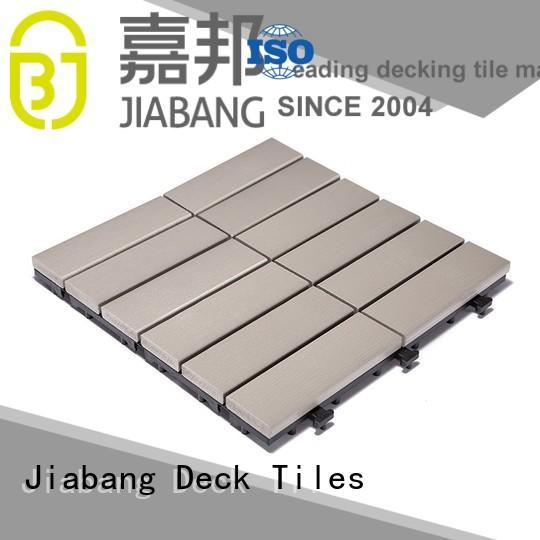 JIABANG wholesale outdoor plastic deck tiles anti-siding home decoration