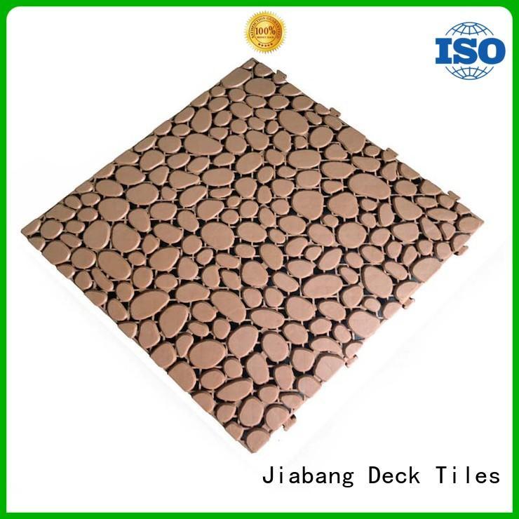 JIABANG protective plastic garden tiles