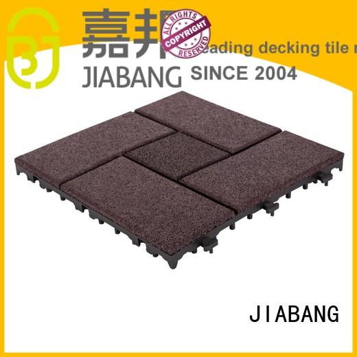 JIABANG professional interlocking rubber gym mats cheap at discount