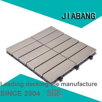 pvc deck tiles decking sun Warranty JIABANG