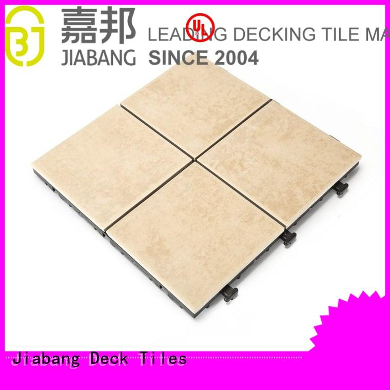 non-slip frost proof tiles for outdoors anti-sliding balcony decoration JIABANG