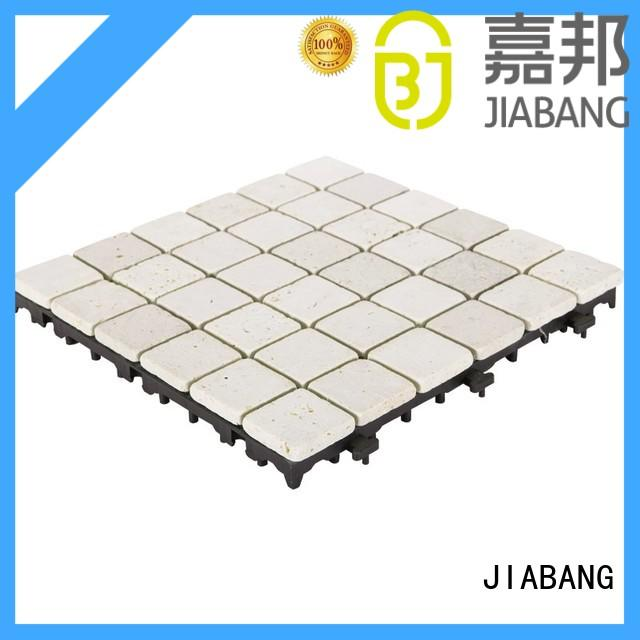 interlocking outdoor travertine tile outdoor high-quality for playground