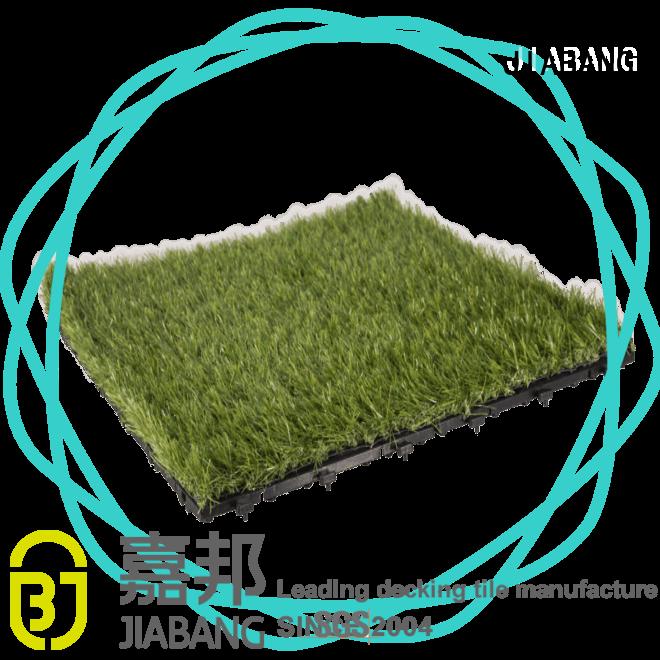 JIABANG high-quality artificial grass tiles at discount balcony construction