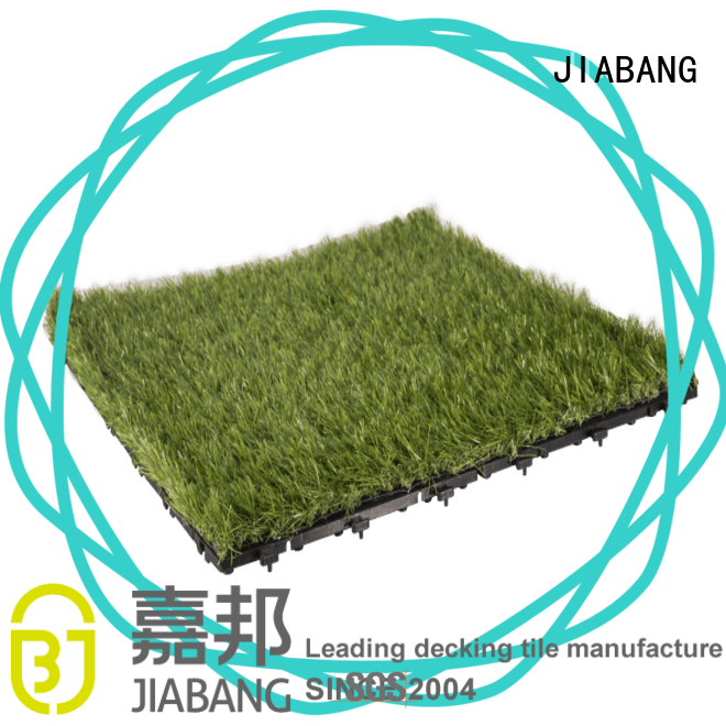 JIABANG high-quality artificial grass tiles at discount balcony construction
