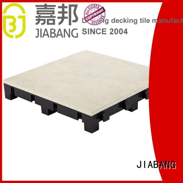 porcelain deck tiles interlocking for patio JIABANG